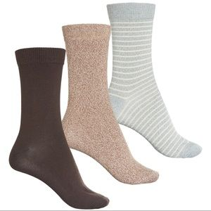 NWT Frye Stripe Crew Socks - 3-Pack